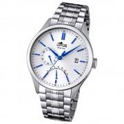 LOTUS Herren-Armbanduhr Multifunktion Analog Quarz Edelstahl silber UL18213/1