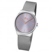 LOTUS Damen-Armbanduhr Stahlband klassisch Quarz Edelstahl silber UL18288/2