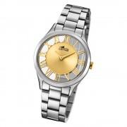 Lotus Damen-Armbanduhr Edelstahl silber 18395/2 Quarz Trendy UL18395/2