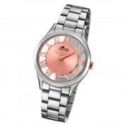 Lotus Damen-Armbanduhr Edelstahl silber 18395/3 Quarz Trendy UL18395/3