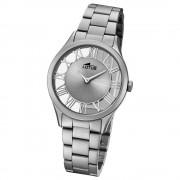 Lotus Damen-Armbanduhr Edelstahl grau 18398/1 Quarz Trendy UL18398/1