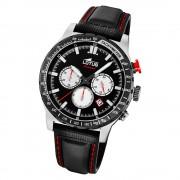 LOTUS Herren Armbanduhr Lotus R 18587/1 Quarz Leder schwarz UL18587/1