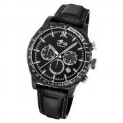 LOTUS Herren Armbanduhr Lotus R 18588/4 Quarz Leder schwarz UL18588/4