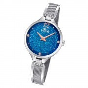 LOTUS Damen Armbanduhr Bliss 18605/2 Quarz Edelstahl silber UL18605/2