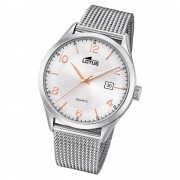 LOTUS Herren Armbanduhr Minimalist 18631/1 Quarz Edelstahl silber UL18631/1