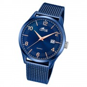 LOTUS Herren Armbanduhr Minimalist 18632/1 Quarz Edelstahl blau UL18632/1