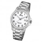 LOTUS Herren Armbanduhr Classic 18645/1 Quarz Edelstahl silber UL18645/1