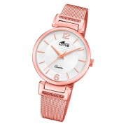 LOTUS Damen Armbanduhr Bliss 18649/1 Quarz Edelstahl rosegold UL18649/1