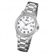 LOTUS Damen Armbanduhr Classic 18655/1 Quarz Edelstahl silber UL18655/1