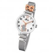 LOTUS Jugend Armbanduhr Junior 18659/4 Quarz Edelstahl silber UL18659/4