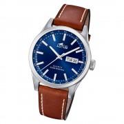 LOTUS Herren Armbanduhr Classic 18671/3 Quarz Leder braun UL18671/3