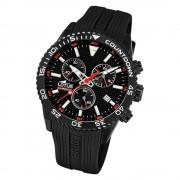 LOTUS Herren Armbanduhr Lotus R 18672/2 Quarz PU schwarz UL18672/2
