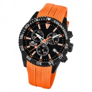 LOTUS Herren Armbanduhr Lotus R 18672/5 Quarz PU orange UL18672/5