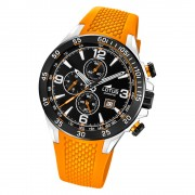 LOTUS Herren Armbanduhr Lotus R 18673/6 Quarz PU orange UL18673/6