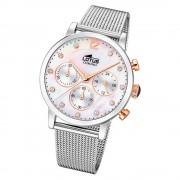 LOTUS Damen Armbanduhr Trendy 18676/1 Quarz Edelstahl silber UL18676/1