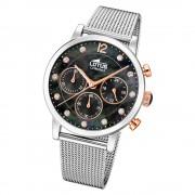 LOTUS Damen Armbanduhr Trendy 18676/4 Quarz Edelstahl silber UL18676/4
