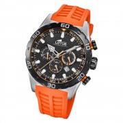 LOTUS Herren Armbanduhr Lotus R 18677/5 Quarz PU orange UL18677/5
