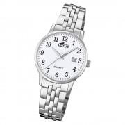 LOTUS Damen Armbanduhr Classic 18698/1 Quarz Edelstahl silber UL18698/1