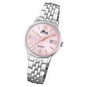LOTUS Damen Armbanduhr Classic 18698/2 Quarz Edelstahl silber UL18698/2