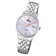 LOTUS Damen Armbanduhr Classic 18698/3 Quarz Edelstahl silber UL18698/3