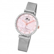 LOTUS Damen Armbanduhr Bliss 18709/2 Quarz Edelstahl silber UL18709/2
