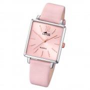 LOTUS Damen Armbanduhr Trendy 18712/2 Quarz Leder rosa UL18712/2