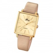 LOTUS Damen Armbanduhr Trendy 18713/2 Quarz Leder beige UL18713/2