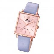 LOTUS Damen Armbanduhr Trendy 18714/1 Quarz Leder lila UL18714/1