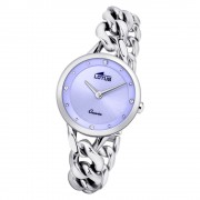 LOTUS Damen Armbanduhr Trendy 18721/2 Quarz Edelstahl silber UL18721/2