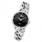 LOTUS Damen Armbanduhr Trendy 18721/4 Quarz Edelstahl silber UL18721/4