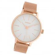 Oozoo Damen Armbanduhr Timepieces C10008 Quarz Stahl rosegold UOC10008