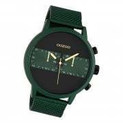 Oozoo Herren Armbanduhr Timepieces C10512 Analog Edelstahl grün UOC10512