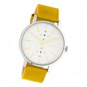 Oozoo Damen Armbanduhr Timepieces C10585 Analog Leder gelb UOC10585