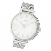 Oozoo Damen Armbanduhr Timepieces C10620 Analog Edelstahl silber UOC10620