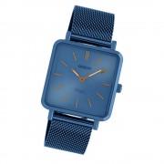 Oozoo Damen Armbanduhr Ultra Slim C20012 Quarzwerk Edelstahl blau UOC20012