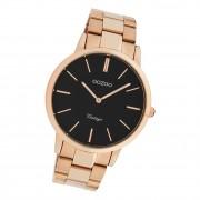 Oozoo Damen Armbanduhr Ultra Slim C20024 Analog Edelstahl rosegold UOC20024