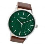 Oozoo Herren Armbanduhr Timepieces C9441 Quarzwerk Leder braun UOC9441
