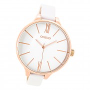 Oozoo Damen Armbanduhr Timepieces C9540 Analog Edelstahl weiß UOC9540