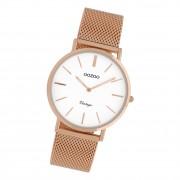 Oozoo Damen Armbanduhr Ultra Slim C9918 Analog Edelstahl rosegold UOC9918