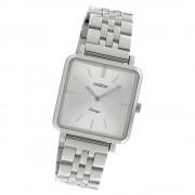 Oozoo Damen Armbanduhr Ultra Slim C9950 Quarzwerk Edelstahl silber UOC9950