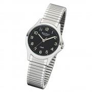 Regent Damen Armbanduhr Analog 2242415 Quarz-Uhr Metall silber UR2242415