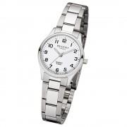 Regent Damen-Armbanduhr 32-2253410 Quarz-Uhr Edelstahl-Armband silber UR2253410