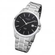 Regent Herren-Armbanduhr 32-F-1012 Quarz-Uhr Edelstahl-Armband silber URF1012