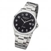 Regent Herren Armbanduhr Analog F-1191 Quarz-Uhr Metall silber URF1191