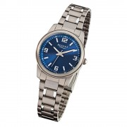 Regent Damen-Armbanduhr - Titan-Uhren - Quarz Titan silber, grau URF857