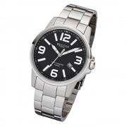 Regent Herren-Armbanduhr 32-F-997 Quarz-Uhr Edelstahl-Armband silber URF997
