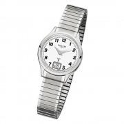 Regent Damen-Armbanduhr 32-FR-210 Funkuhr Edelstahl-Armband silber URFR210