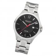Regent Herren Armbanduhr Analog GM-1632 Quarz-Uhr Metall silber URGM1632