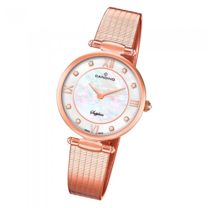Candino Damen Armband Uhr Lady Elegance C46681 Edelstahl rosegold UC46681