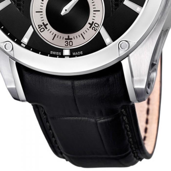 Herren Jaguar Uj678b Armbanduhr J678b Leder Schwarz Saphir Edition Special Ibf76gYvy